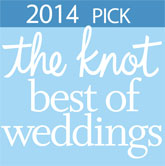 2014 pick The Knot Best of Weddings