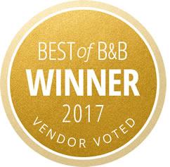 Best of Borrowed and Blue Winner 2017