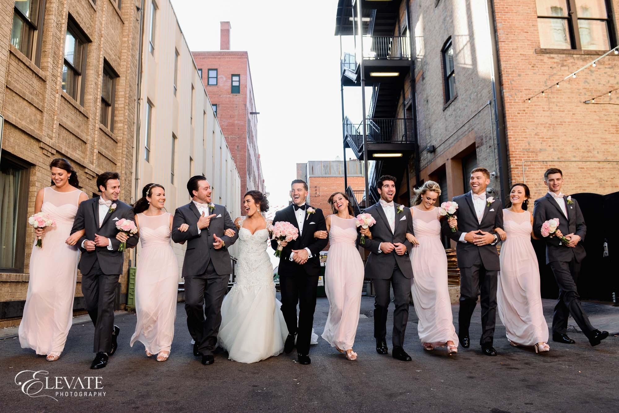 wedding party colorado springs mining exchange