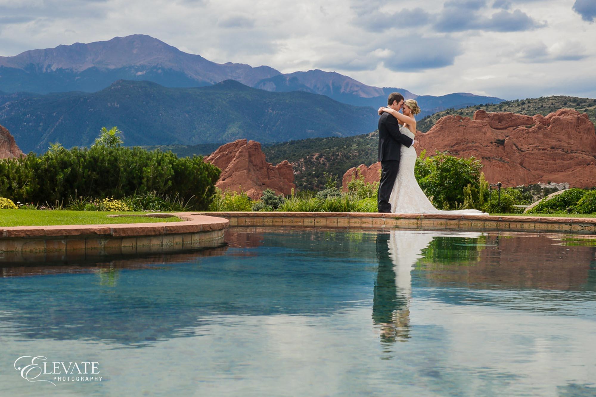 Wedding portrait Colorado springs wedding photos
