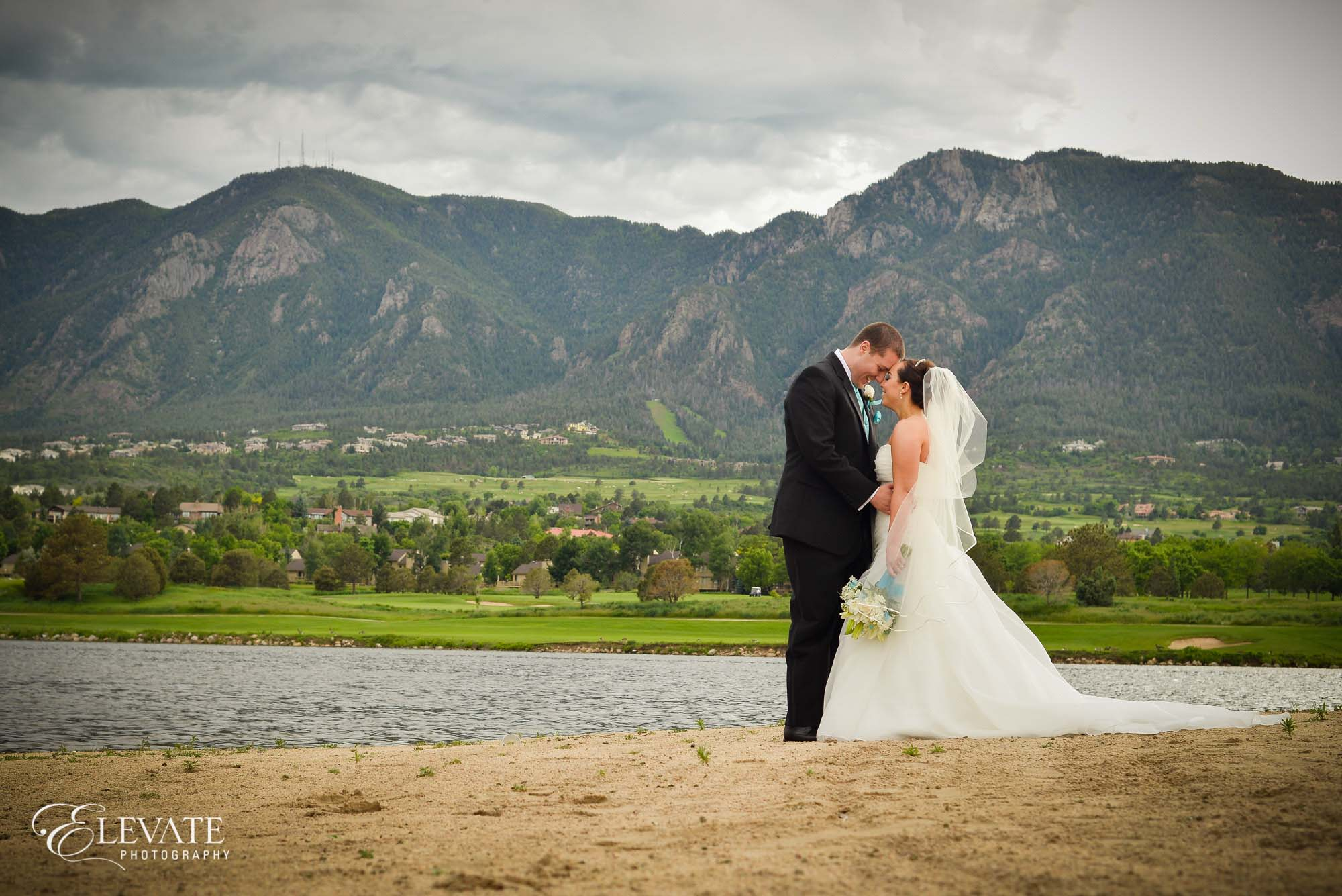 wedding portrait colorado springs cheyenne mountain resort