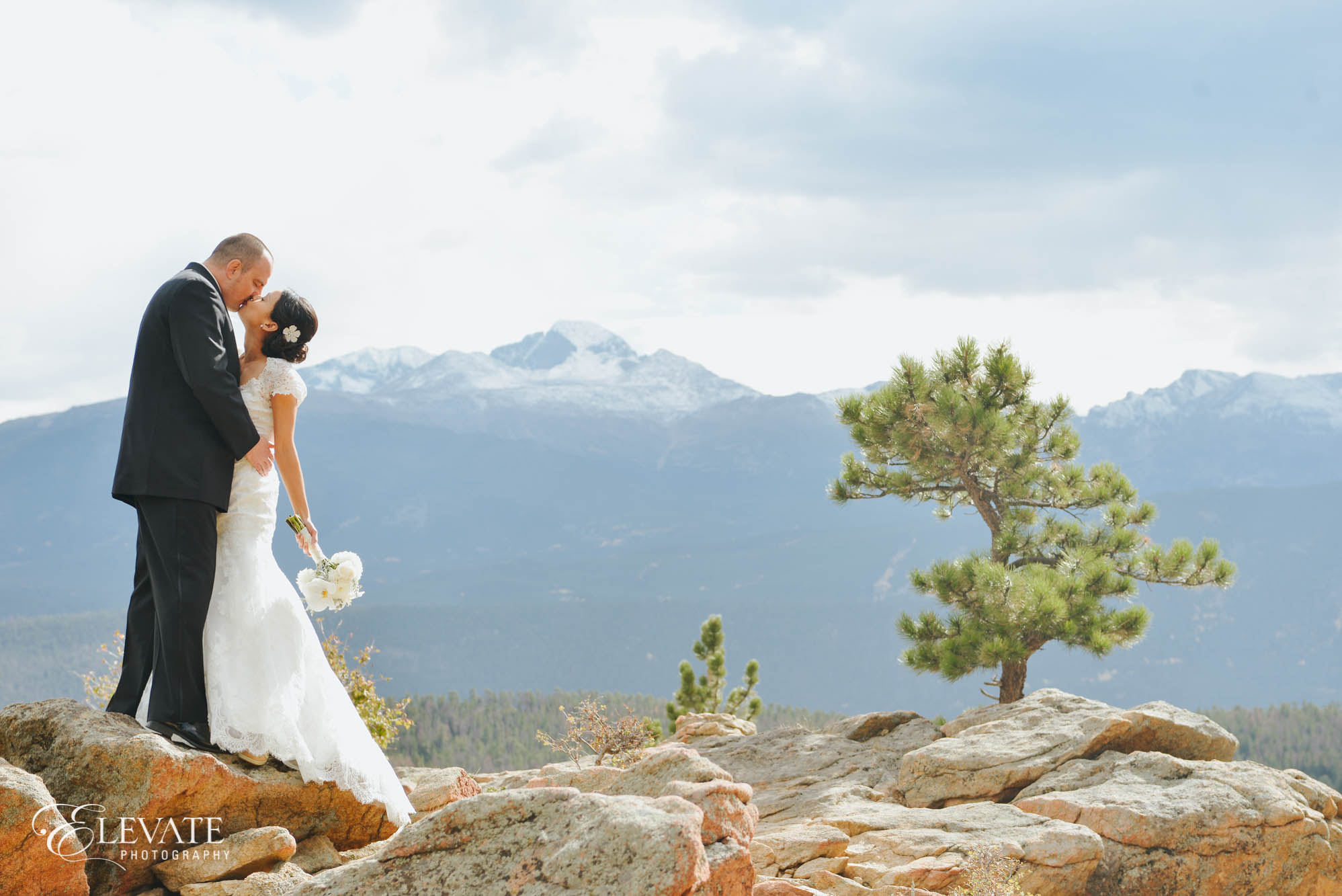 Estes Park wedding photos Rocky Mountain National Park