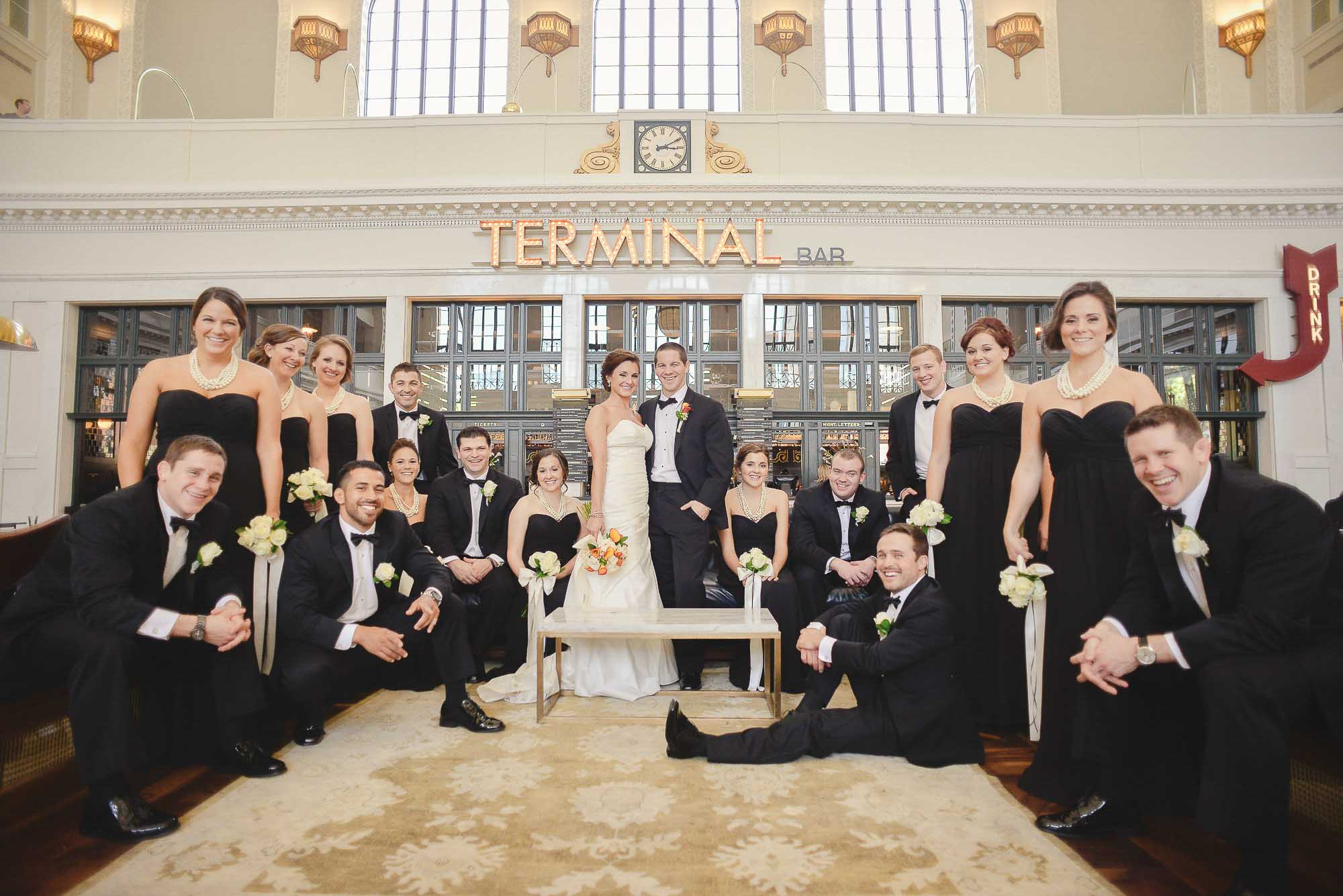wedding party Union Station