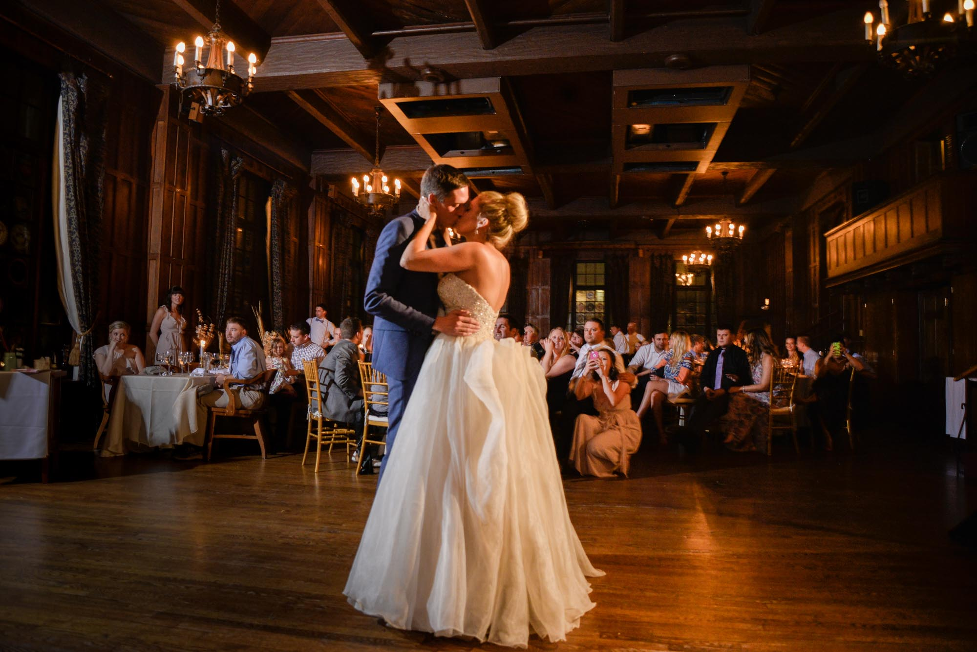 reception first dance University Club