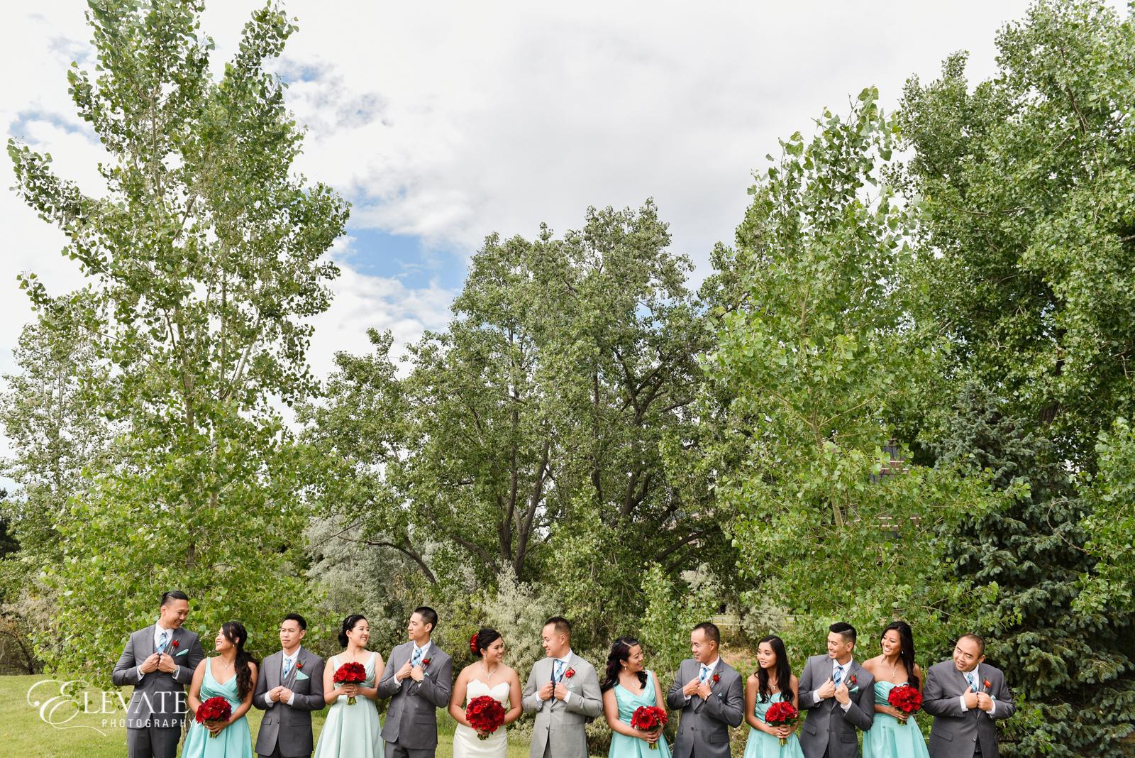 wedding party baldoria on the water