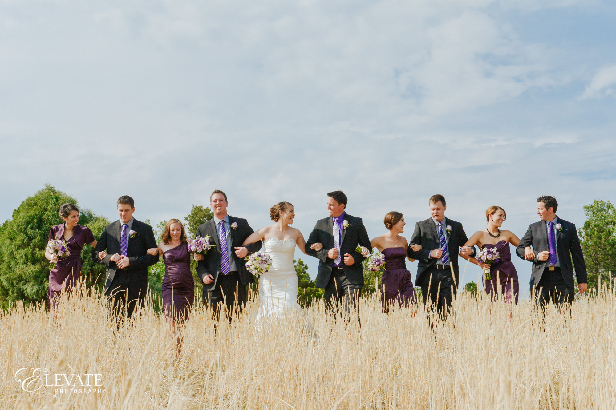 Wedding party in Lakewood