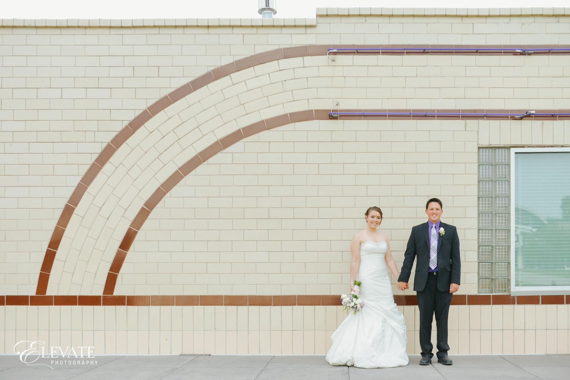 Bride groom historic building