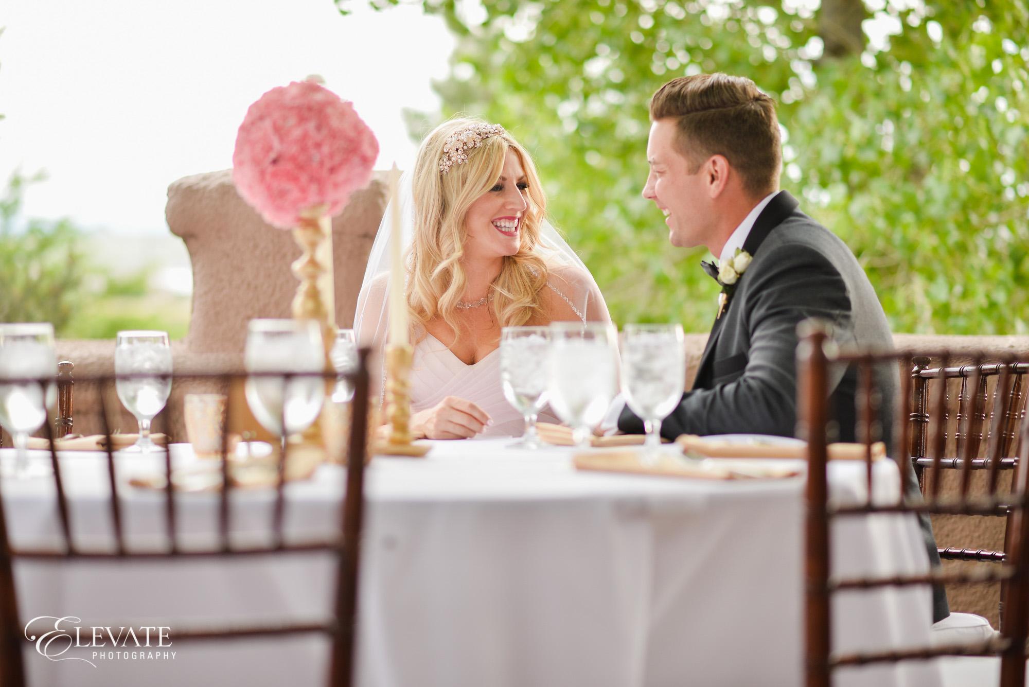 wedding reception parker