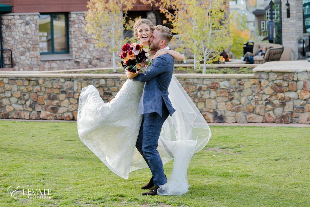 wedding ceremony couple