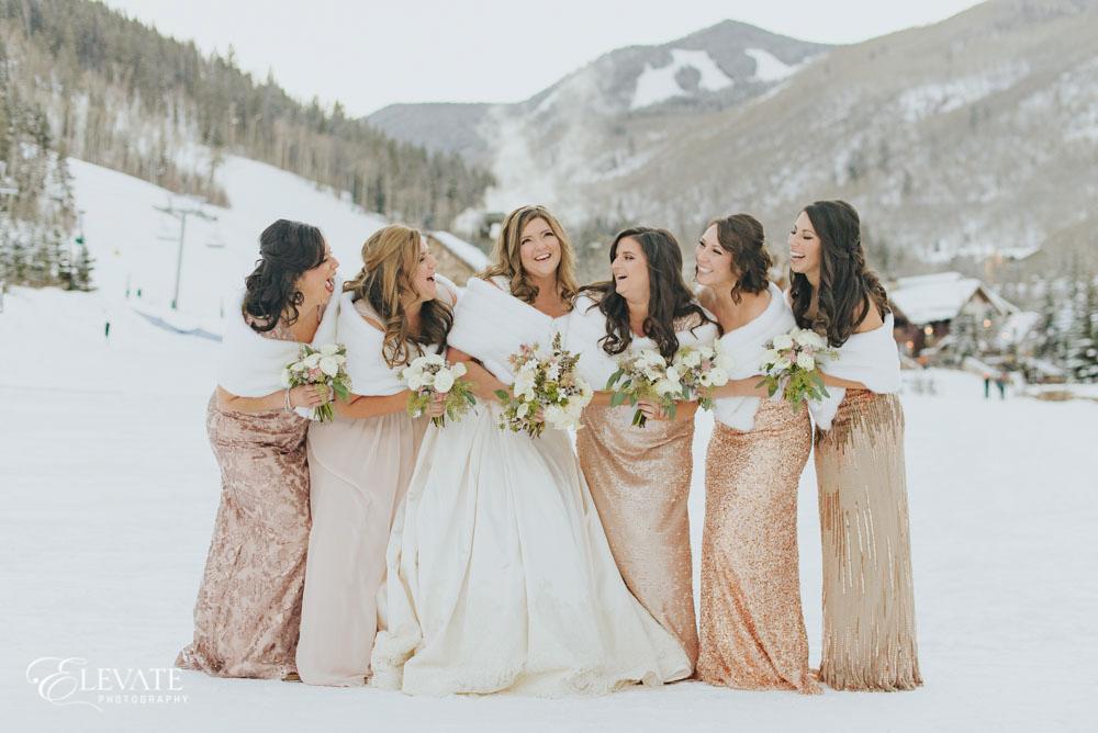 bridesmaids winter
