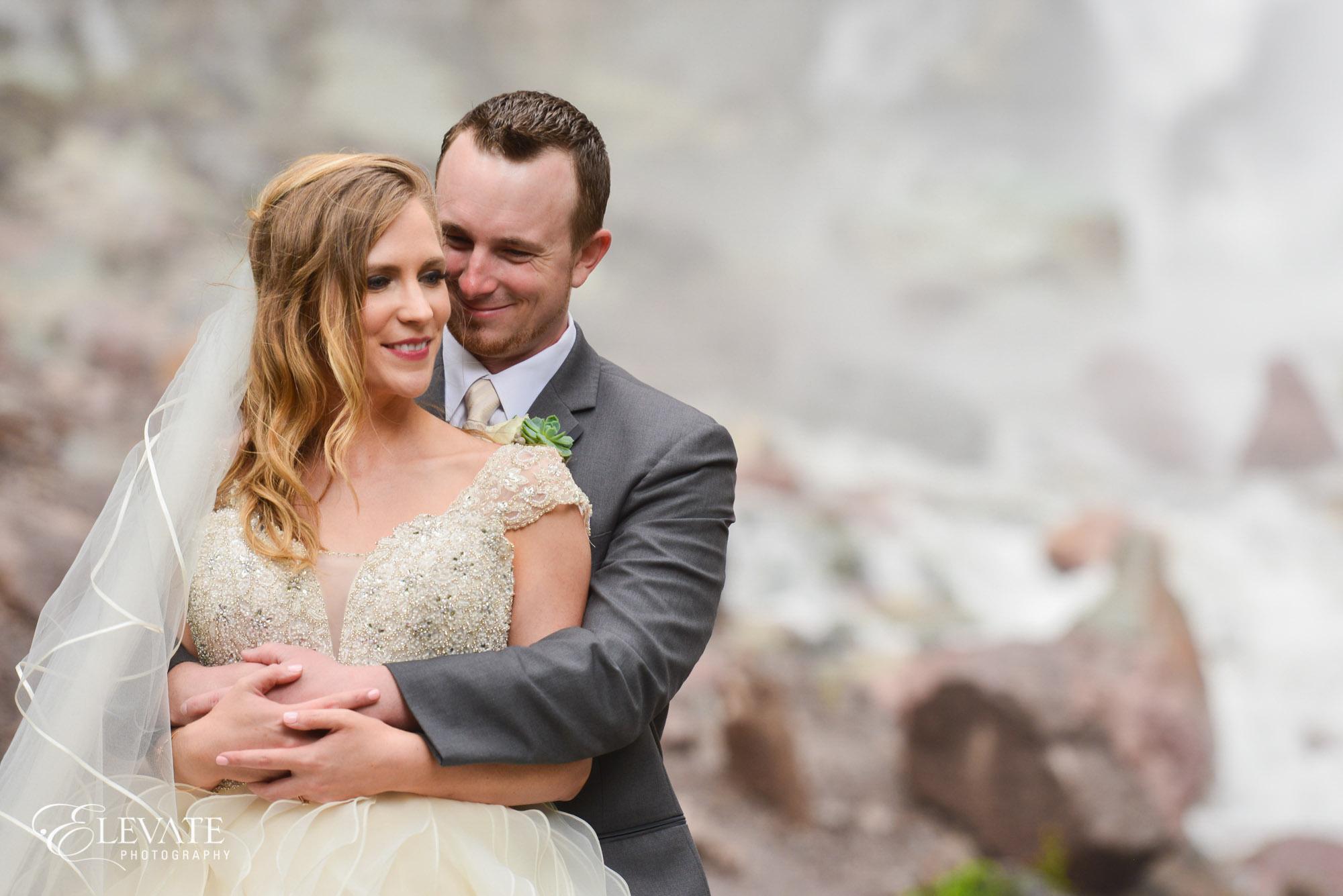 cascade falls ouray wedding