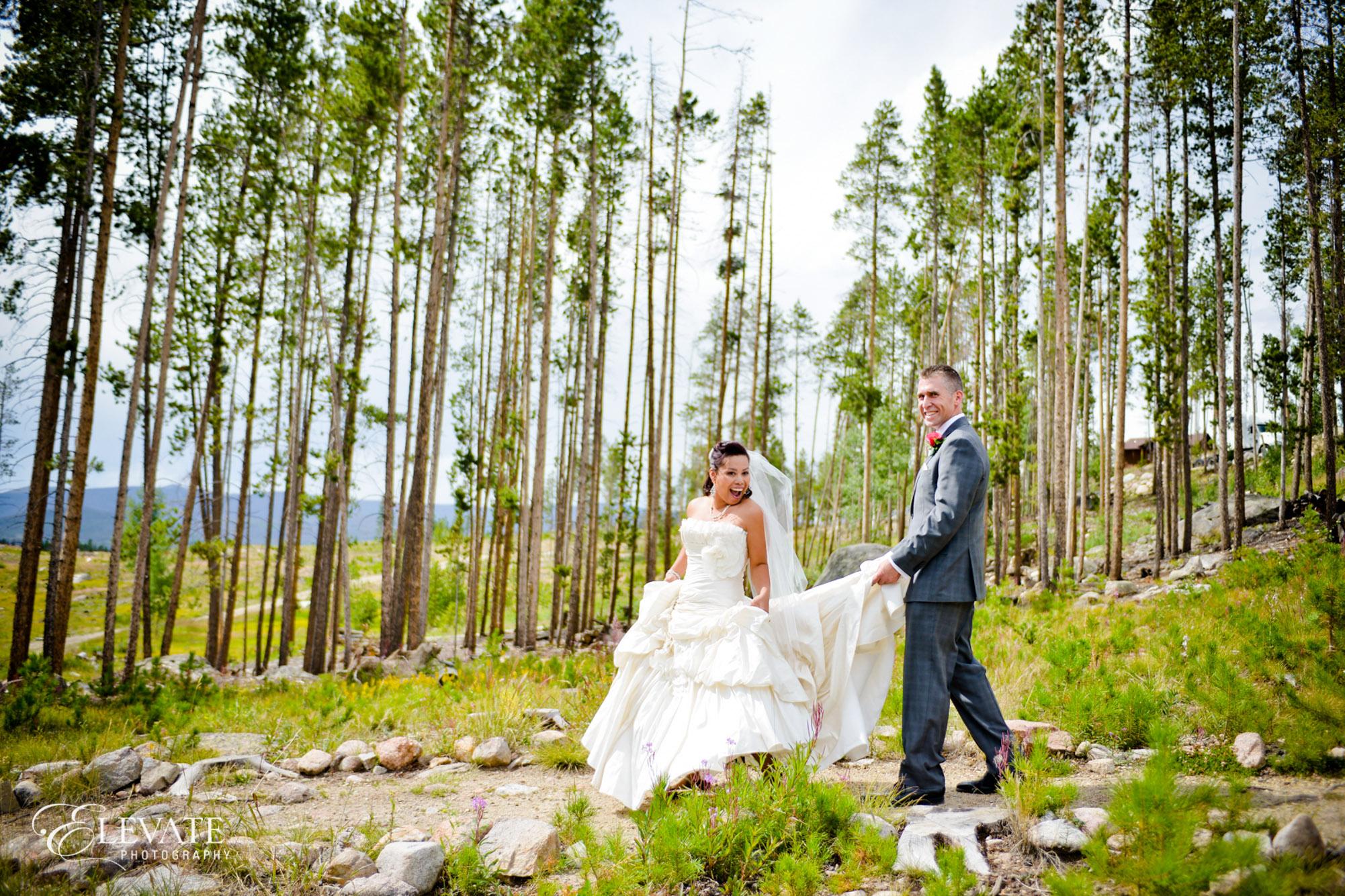 woods grand lake bride
