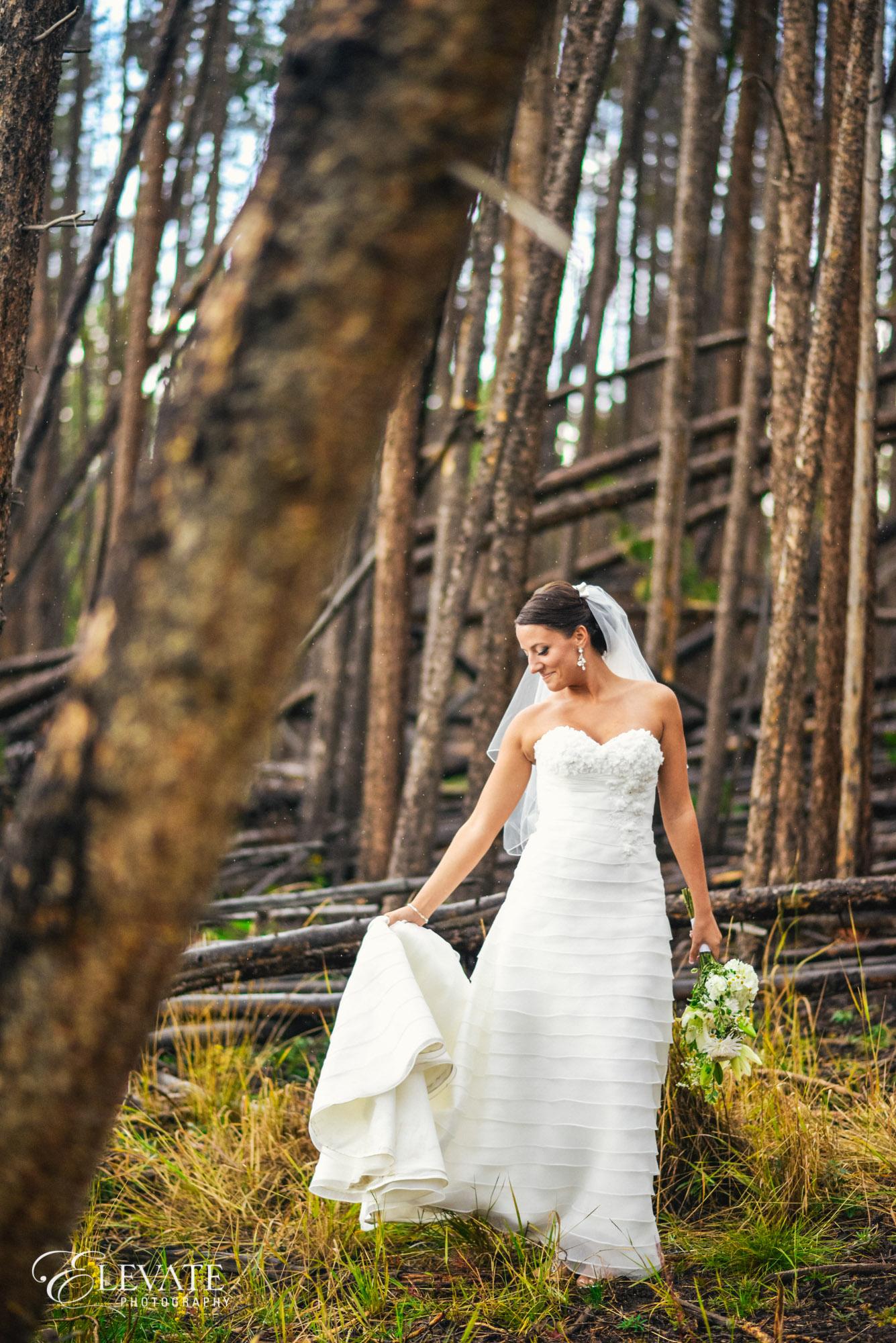 bride woods dress