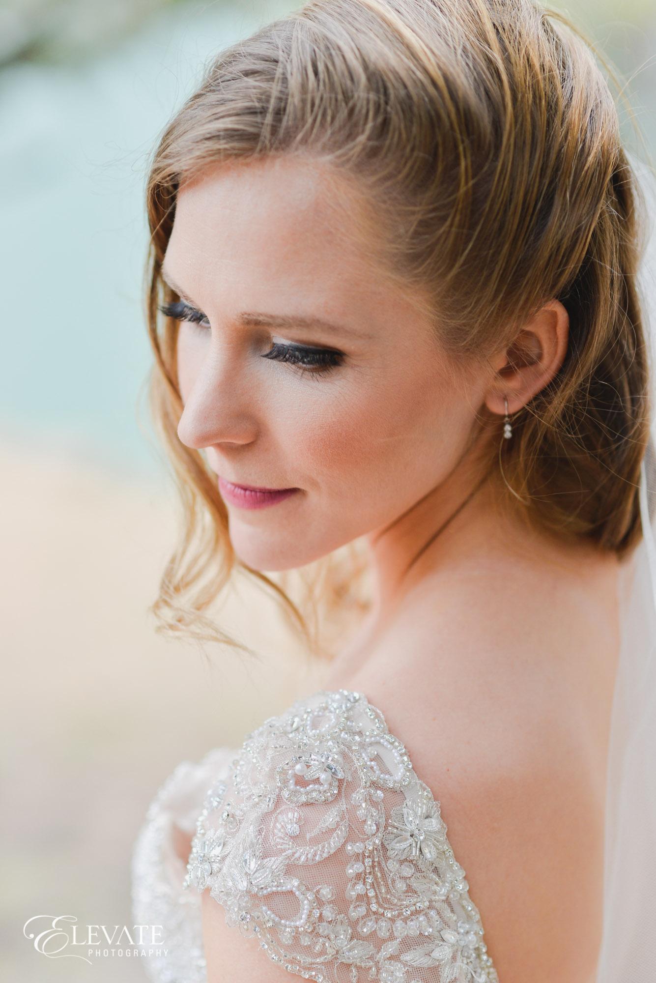 bride portrait ridgeway