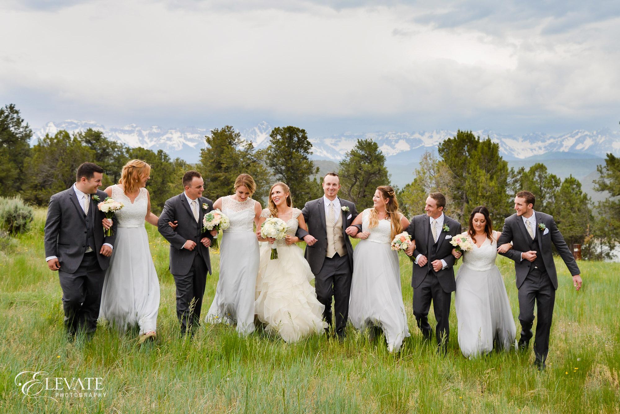 wedding party ridgeway state park