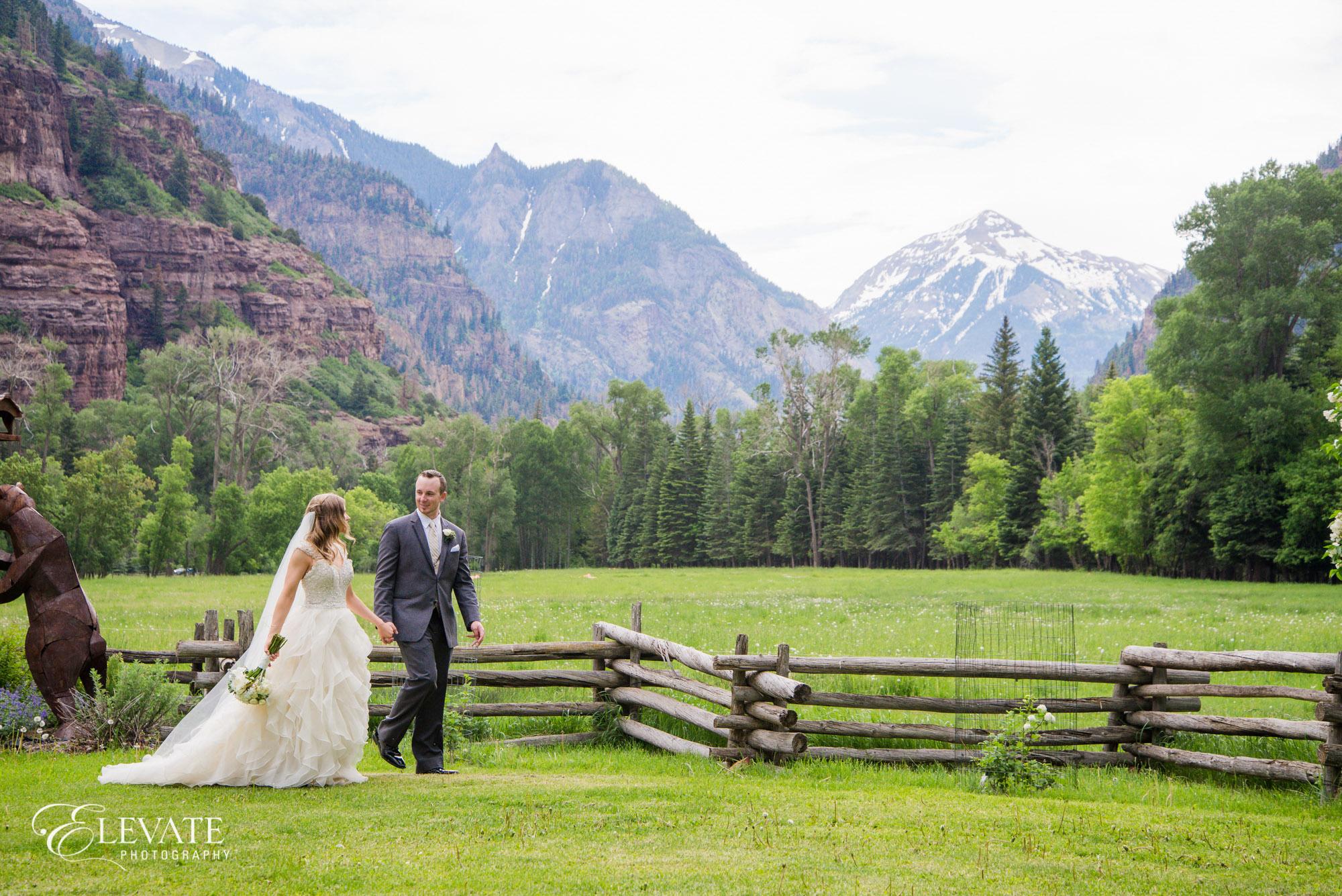 mountain telluride wedding