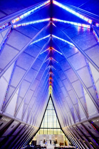 air force academy chapel ceremony