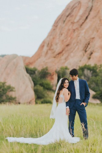 couple at Roxborough State Park