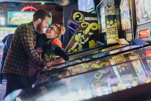 pinball game engagement
