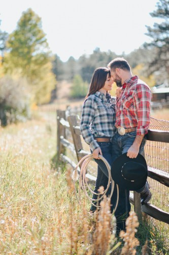 ranch cowboy engagement