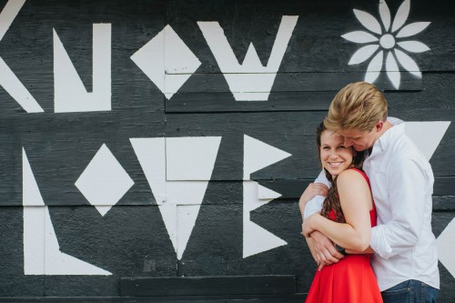 love mural engagement