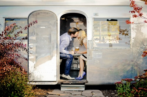 airstream kiss blue shoes