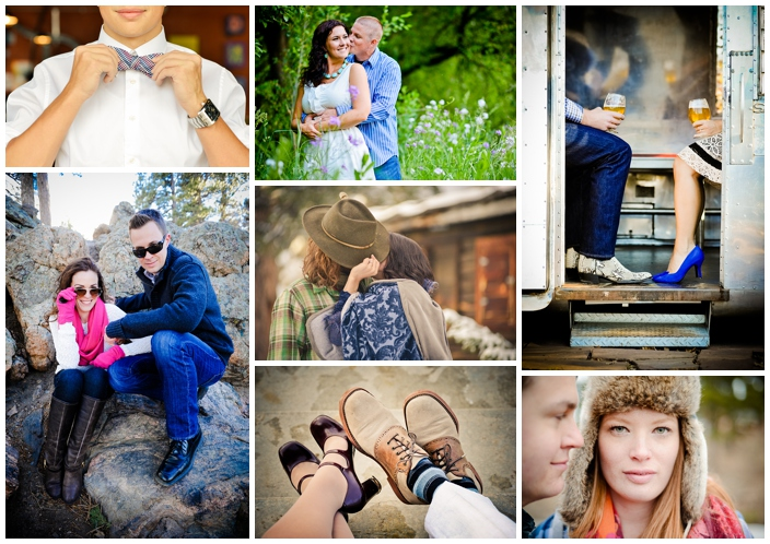 engagement photo accessories