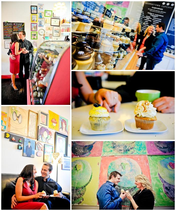 cupcake engagements