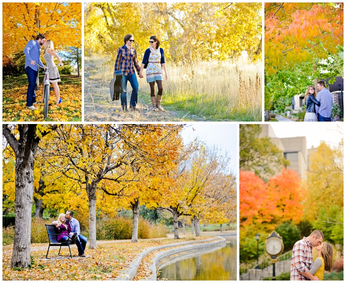 Fall city engagement