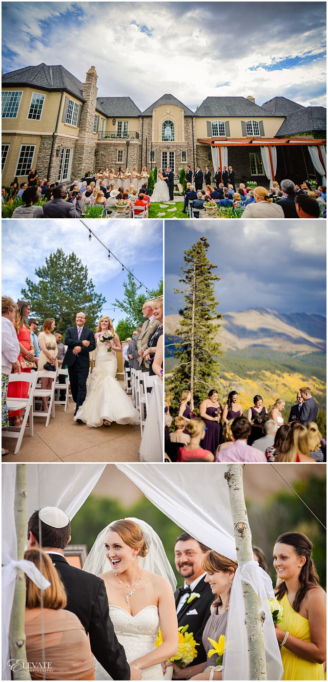 outdoor colorado weddings