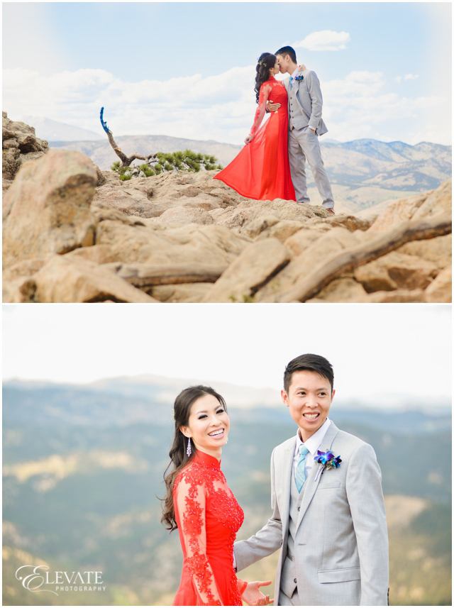 How beautiful are ThuyAn and Quang! #vietnamesewedding #longdress #reddress #flagstaffmountain #lostgulch #weddingphotography #weddingphotographer #realwedding #weddingday #bride #groom #coloradowedding #tohaveandtohold #foreverandever #wedding #coloradoweddingphotographer #love #marriage #coloradoweddings #denverwedding #instagood #photooftheday #happy #weddinginspiration #weddingideas #weddingdress #capturinglife #elevatephotography