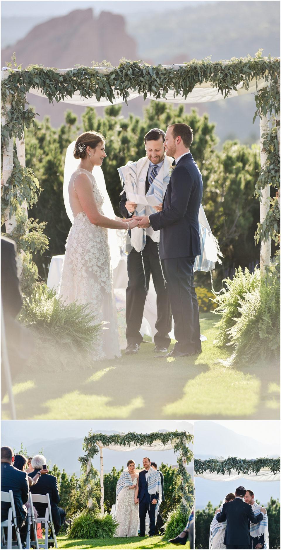 Alyssa Jeremy Garden Of The Gods Club Wedding Photos