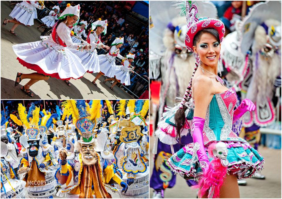Carnival in Oruro, Bolivia