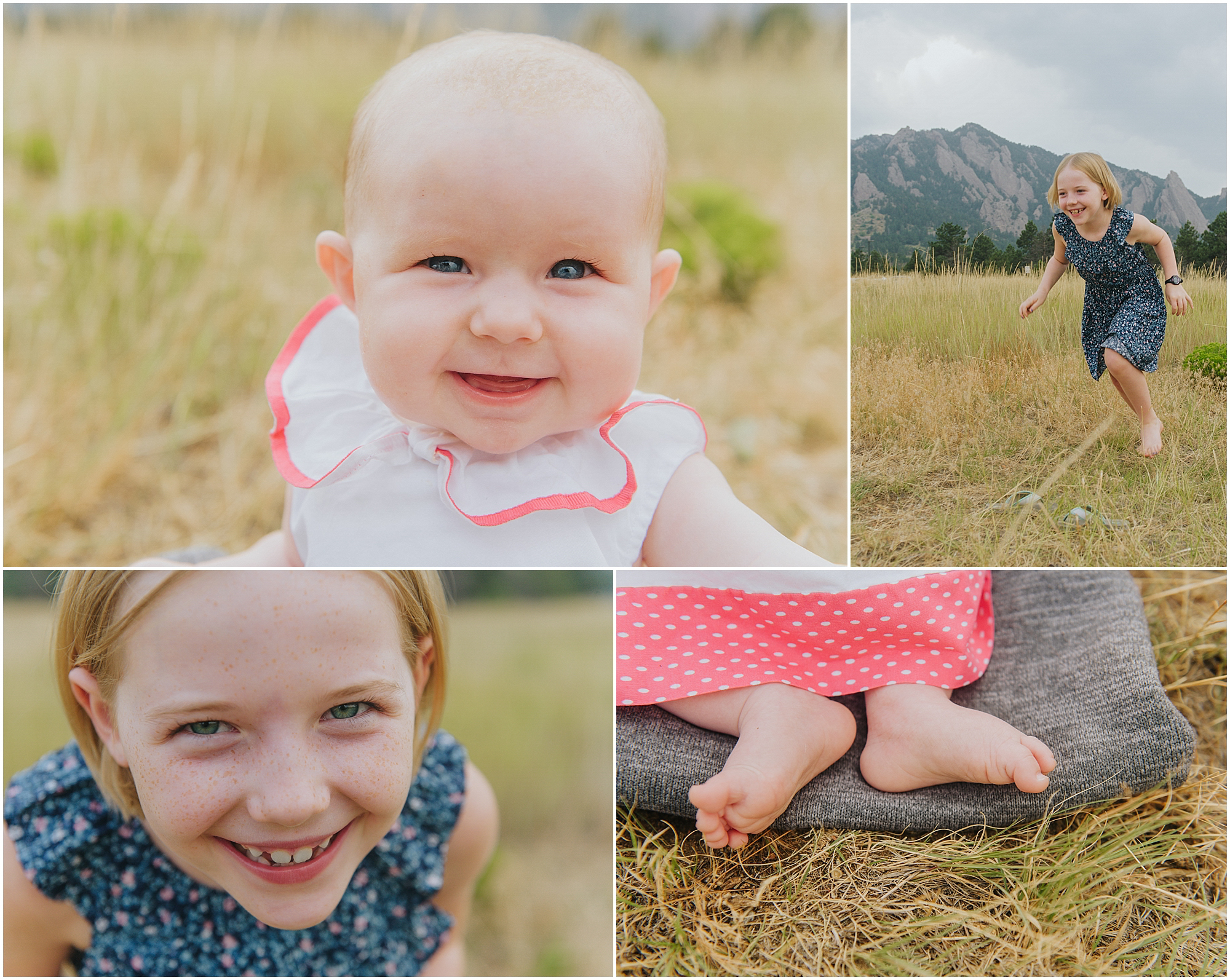 Boulder Flatirons Family Photos