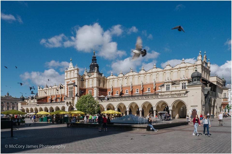 Old Town Krakow Cloth Hall