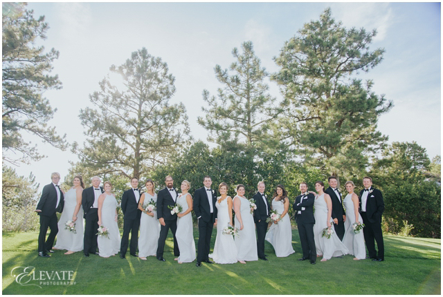 wedding party grass sanctuary