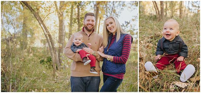 Bear Creek Park 6 month baby photos