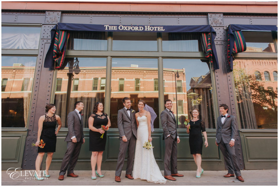 the oxford hotel wedding party