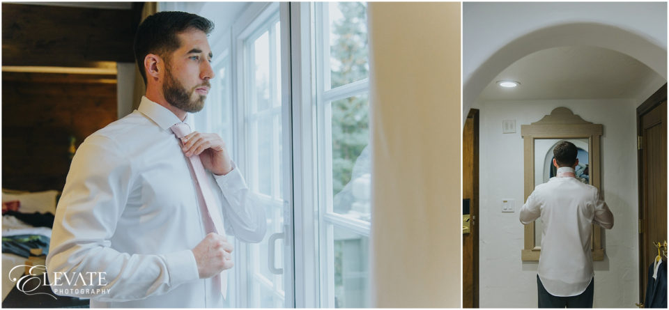 Sonnenalp Winter Wedding Photos