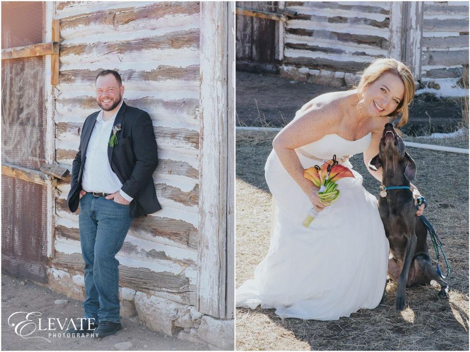 Small Denver Wedding Photos