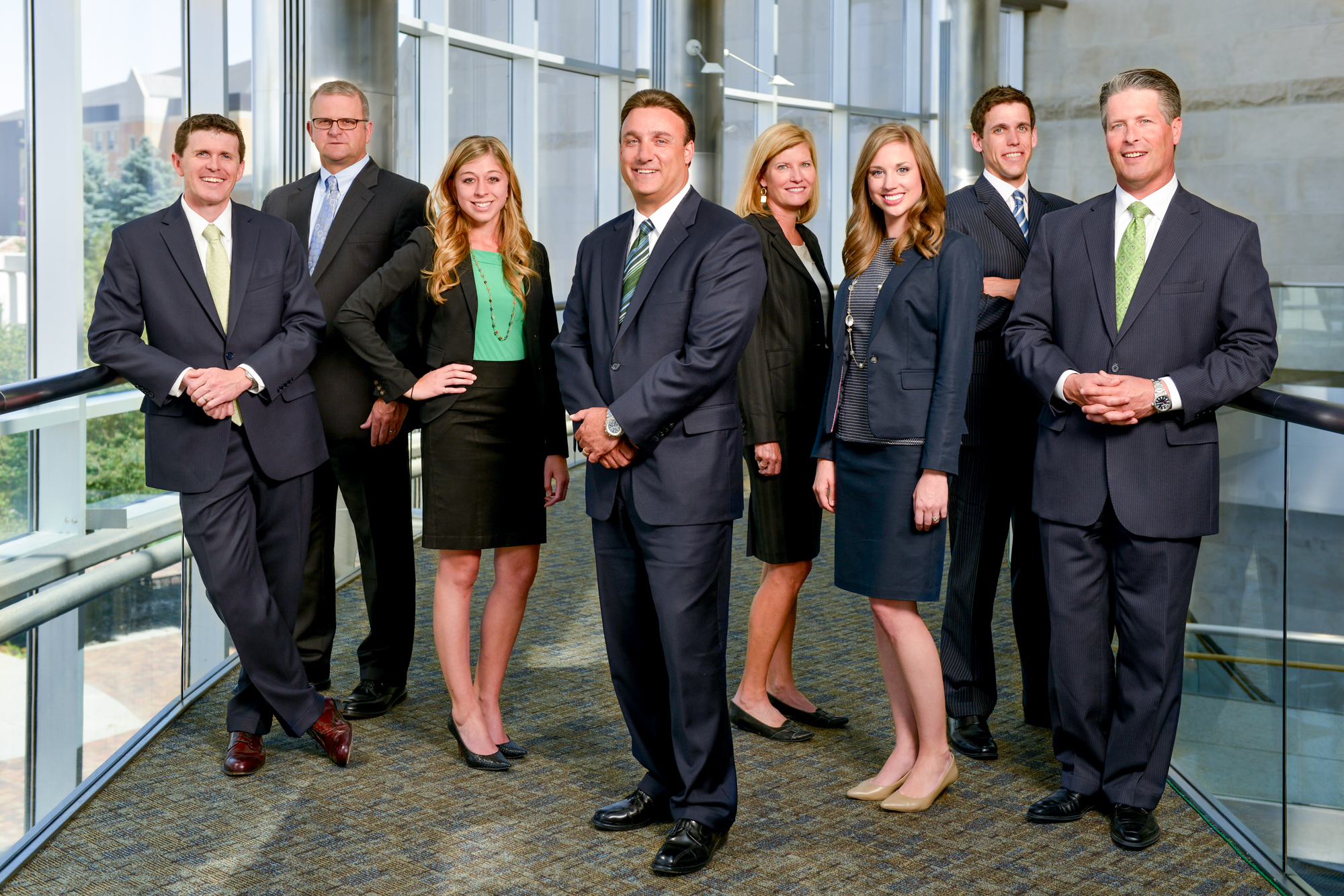 Corporate Team Photo