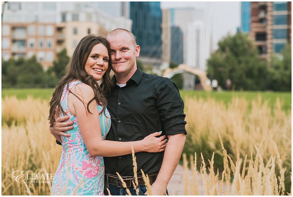 Downtown Denver Engagement Photos