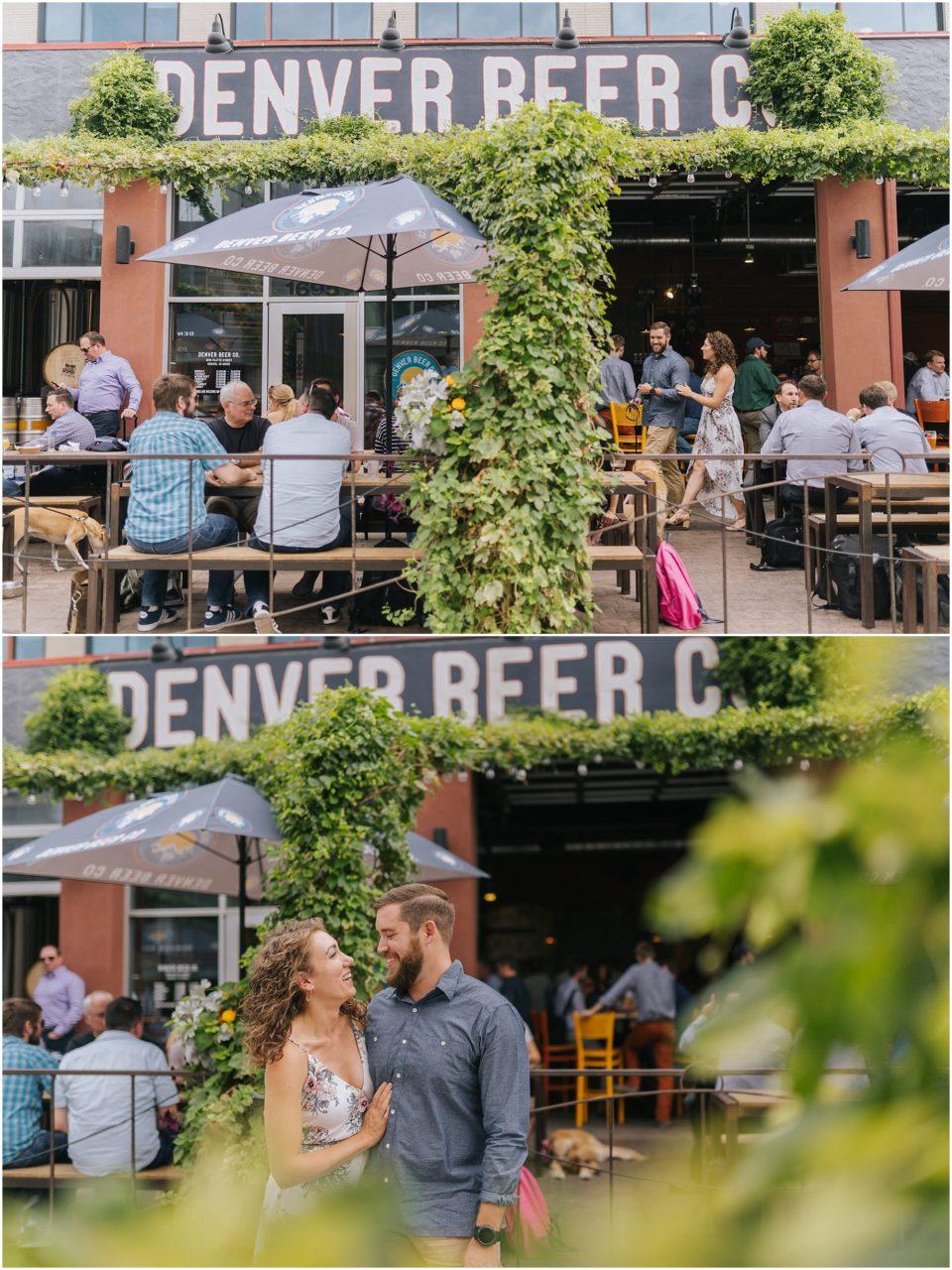denver beer co engagement