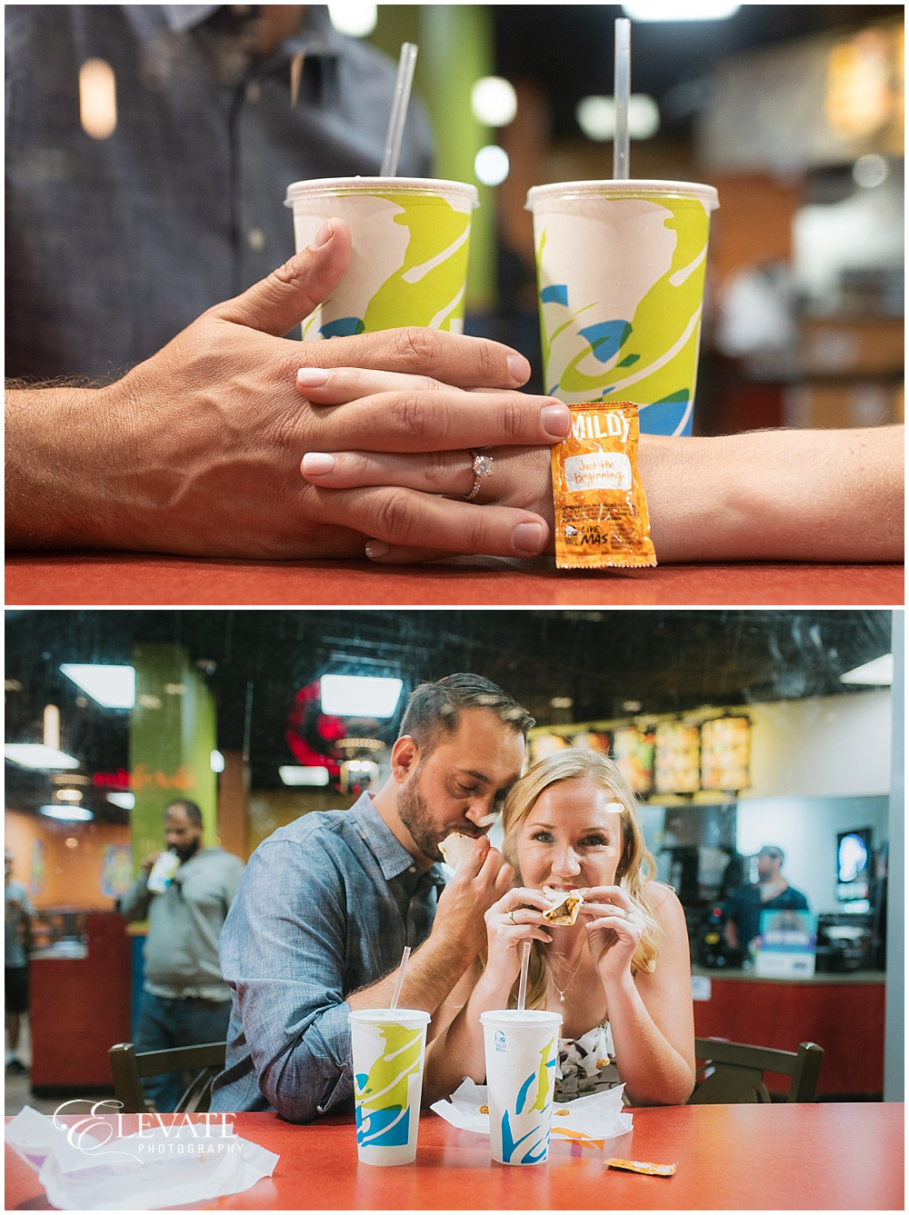 Taco Bell Engagement Photos
