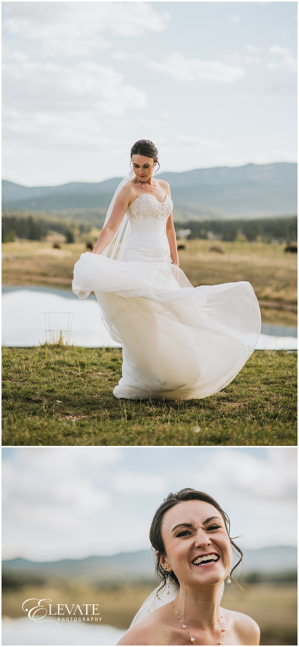 The Barn at Evergreen Memorial Park Wedding Photos