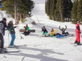 Elevate does Loveland Hooky Ski Day