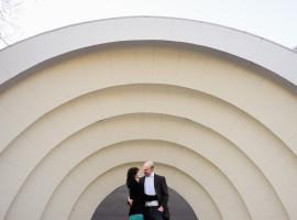 boulder amphitheater engagement photos