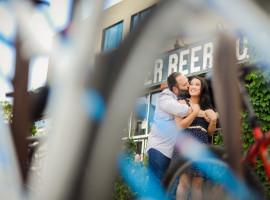 denver beer company engagement photos