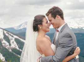 Timber Ridge Lodge Keystone Colorado Wedding Photos