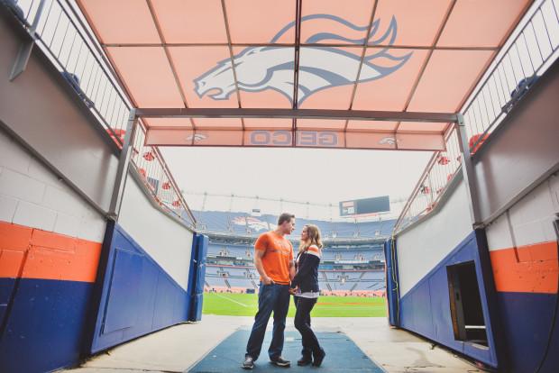 Broncos Stadium engagement Photos
